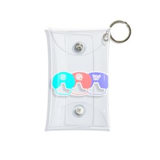 WAKUWAKE(SGW) Mini Clear Multipurpose Case