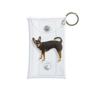 可愛すぎる犬 Mini Clear Multipurpose Case
