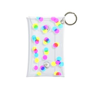 光が零れ落ちる Mini Clear Multipurpose Case