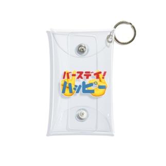 バースデーハッピー Mini Clear Multipurpose Case