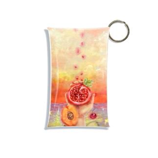 切なさと果物 Mini Clear Multipurpose Case