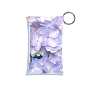 紫陽花の花言葉は移り気 Mini Clear Multipurpose Case