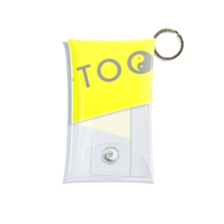 OFFTOOON-Tシャツ Mini Clear Multipurpose Case