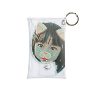 小悪魔ねこちゃん Mini Clear Multipurpose Case