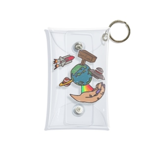 世界はあなたの手の中に。~ The world is in your hands~ Mini Clear Multipurpose Case