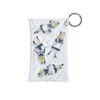 ネコミミちゃんとハチワレ Mini Clear Multipurpose Case
