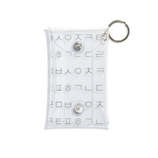 ㄱㄴㄷㄹ カナダラ Mini Clear Multipurpose Case
