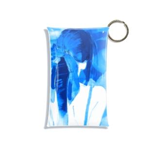 冷やしポニテ Mini Clear Multipurpose Case