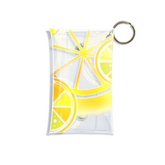 フレッシュオレンジ Mini Clear Multipurpose Case