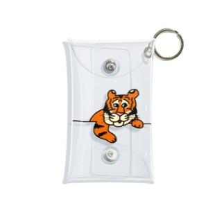 私の虎さん Mini Clear Multipurpose Case