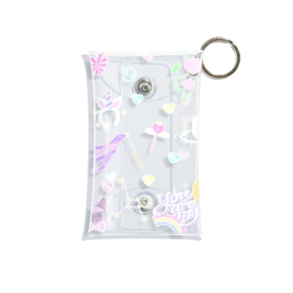°⑅ʚfancy stitchɞ⑅°. Mini Clear Multipurpose Case
