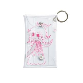 Octopus girl_case Mini Clear Multipurpose Case