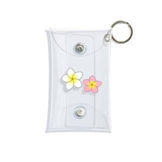 南国のプルメリア Mini Clear Multipurpose Case