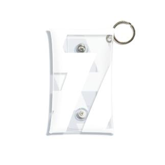 死-白 Mini Clear Multipurpose Case