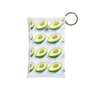 八百屋 / 宇のアボカドアボカド Mini Clear Multipurpose Case