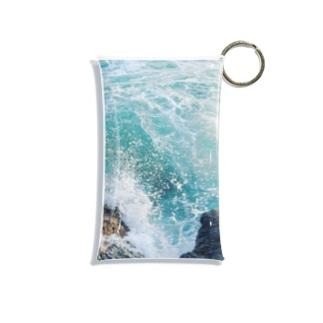 午後の津波 Mini Clear Multipurpose Case