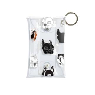 Park a Holic Bostonterrierのボステリセブンくんいっぱい Mini Clear Multipurpose Case