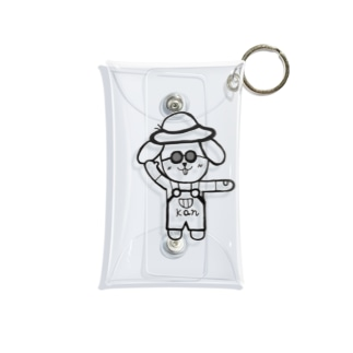 ごきげんかんちゃん Mini Clear Multipurpose Case
