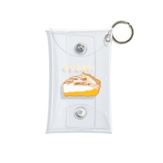 大好きなレモンパイ Mini Clear Multipurpose Case