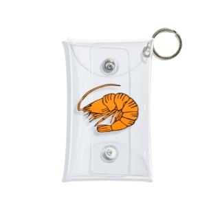 海老 エビ shrimp NO.36 Mini Clear Multipurpose Case
