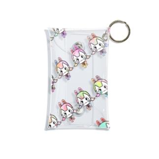 うさぎちゃん(パステル) Mini Clear Multipurpose Case
