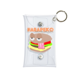 ハラペコハンバーガー Mini Clear Multipurpose Case