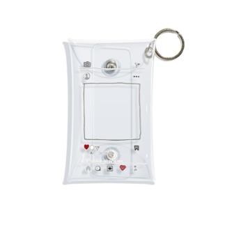 イ〇スタ風 Mini Clear Multipurpose Case