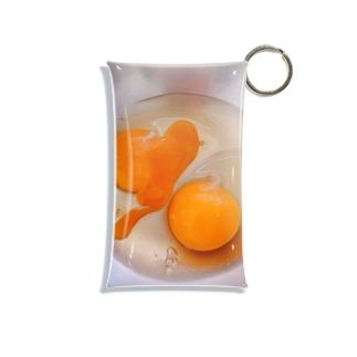 ボウルの生卵 Mini Clear Multipurpose Case