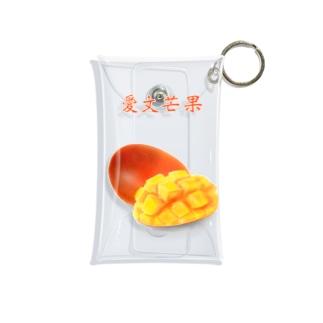 愛文芒果 あいうぇんまんぐぉ Mini Clear Multipurpose Case