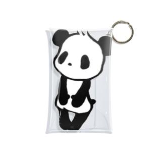 ぱんだ Mini Clear Multipurpose Case