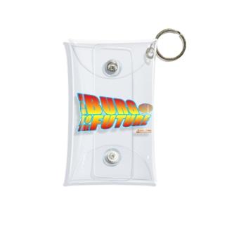 ハンバーグイラスト「ハンバーグ・トゥ・ザ・フューチャー」 Mini Clear Multipurpose Case