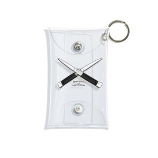 KAZ DATSUN のジャックとナイフ Mini Clear Multipurpose Case