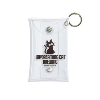 DaydreamingCatBrewing_logo Mini Clear Multipurpose Case
