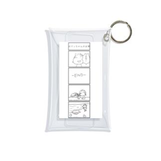 kinaco-poのまゆっちとおけっちゃん Mini Clear Multipurpose Case