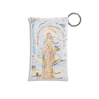 奇跡のメダイユ教会のマリア像 Mini Clear Multipurpose Case