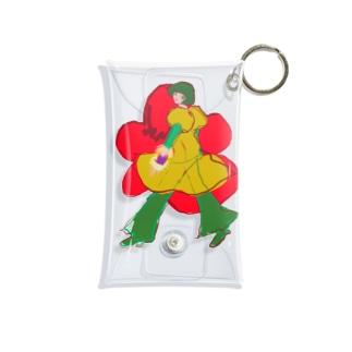 KYURUKYURU pouch Mini Clear Multipurpose Case