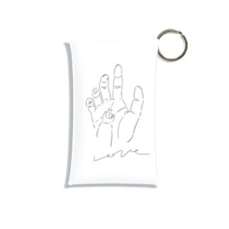 愛の手 Mini Clear Multipurpose Case