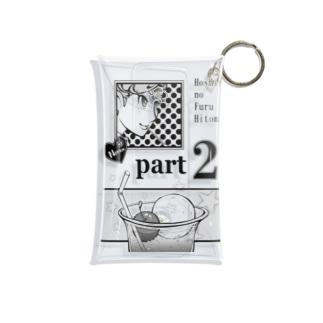 レトロポップ・ポスター5 Mini Clear Multipurpose Case