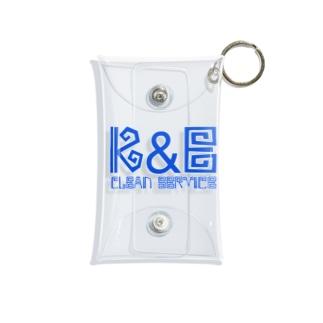 K&E Mini Clear Multipurpose Case