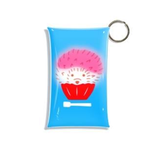 氷イチゴ Mini Clear Multipurpose Case