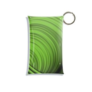 緑! Mini Clear Multipurpose Case