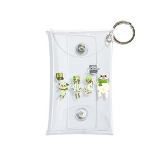 キャラクター集合 Mini Clear Multipurpose Case