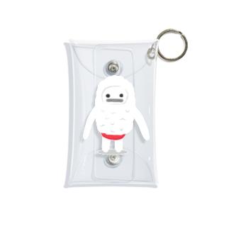 雪男のユキオ Mini Clear Multipurpose Case