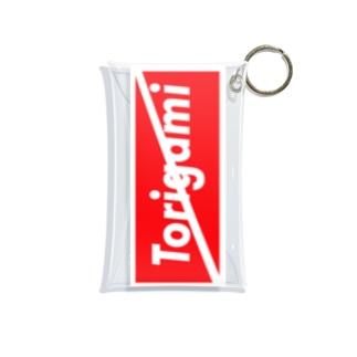 トリガミ禁止!! 馬券入れ Mini Clear Multipurpose Case
