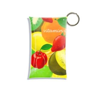 vitamin C ビタミンC 184 Mini Clear Multipurpose Case