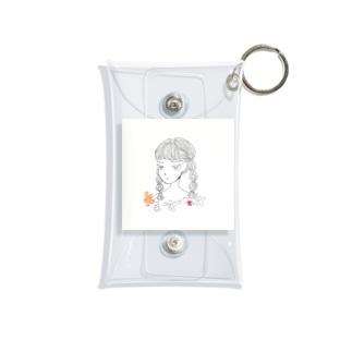 HONOKAMIYAZAKIの女の子1 Mini Clear Multipurpose Case