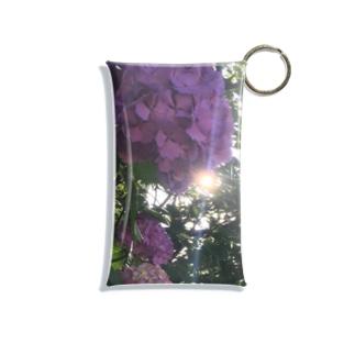 紫陽花  Mini Clear Multipurpose Case
