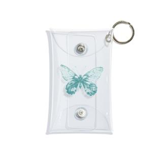 Kaho Takahashiの青の蝶々 Mini Clear Multipurpose Case