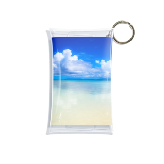mizuphoto.comのDreaming blue Mini Clear Multipurpose Case