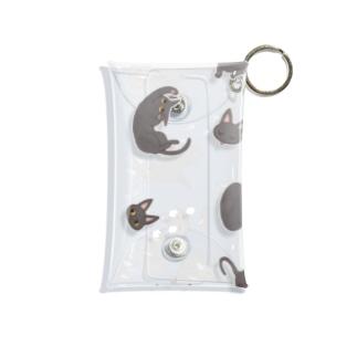 おさんぽキューちゃん Mini Clear Multipurpose Case